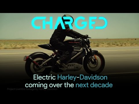 A range of Harley-Davidson electric bikes coming over the next decade