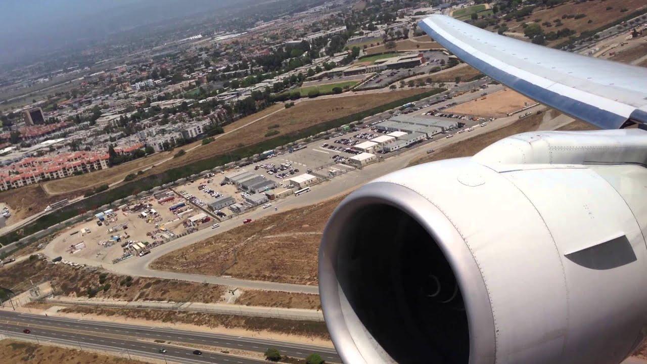 American Airlines 169 Lax Takeoff Rw24l