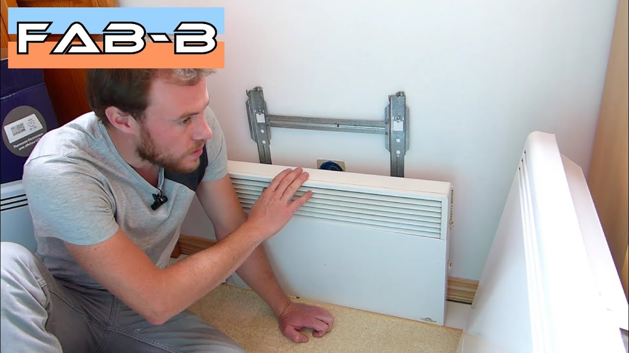 comment installer un radiateur lectrique youtube. Black Bedroom Furniture Sets. Home Design Ideas