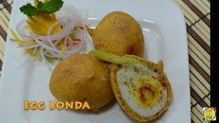 Fried Boiled Eggs - Egg Pakora - By Vahchef @ vahrehvah.com