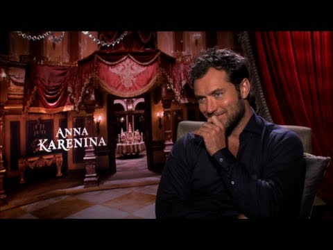 Jude Law Interview on Anna Karenina