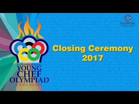 Young Chef Olympiad 2017 Closing Ceremony