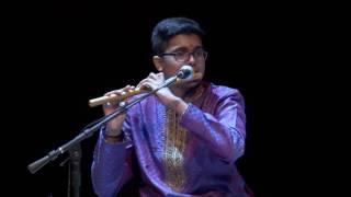 Download Hindi Video Songs - Carnatic Flute - Bhagyada Lakshmi Baramma - Sabapathy Tirupathi Ramana