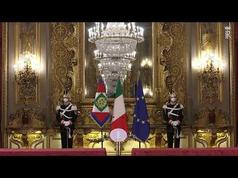 Diretta streaming Consultazioni del Presidente Mattarella