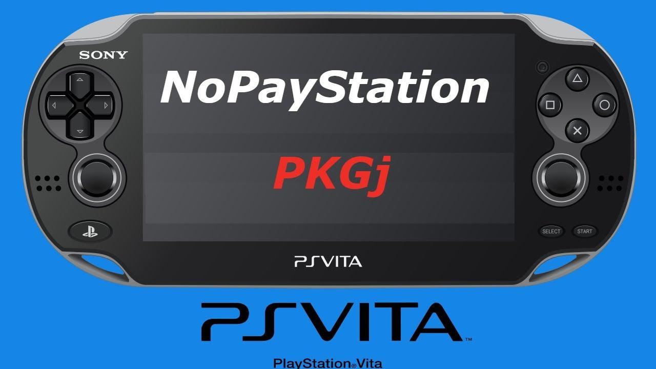 Cara Install Game PKGj dan NoPaystation (VITA)