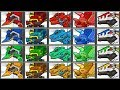 Dino Robot Colored Corps | Show Me Games 1080 HD