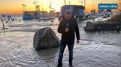 Sturmflut an der Ostsee (2.01.2019)