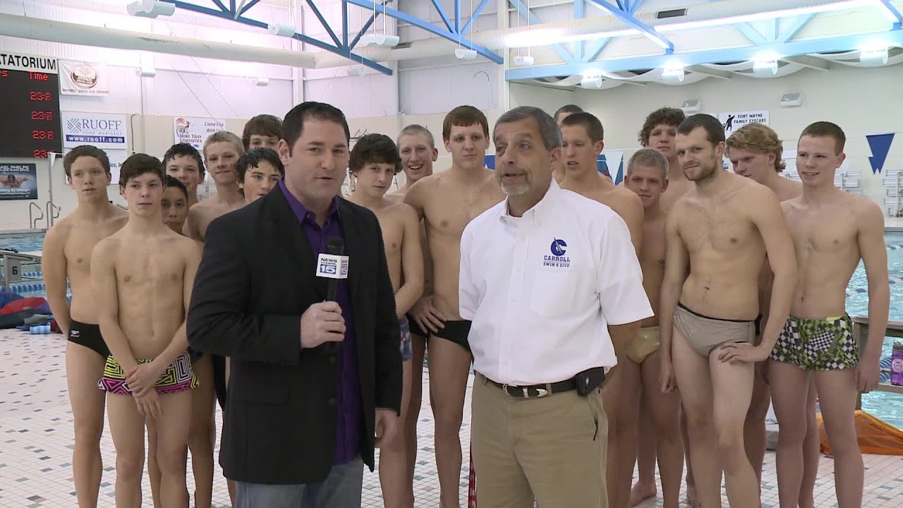 Carroll boys swimming and diving team earns Team of the ...