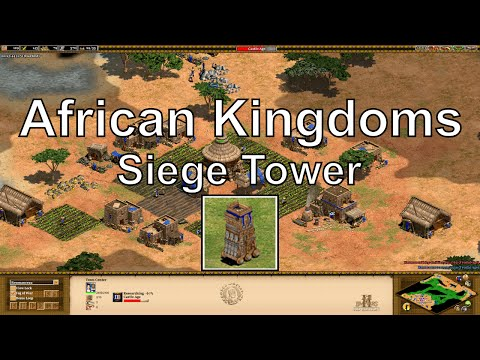 "Aoe2 HD: ""African Kingdoms"" – How Good is the Siege Tower?"