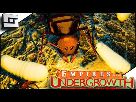 SAVE THE QUEEN!! Empires of the Undergrowth Gameplay E2