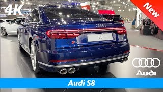 audi S8 2020 - FIRST EXCLUSIVE In-depth review in 4K  Interior - Exterior (Luxury V8 monster!)