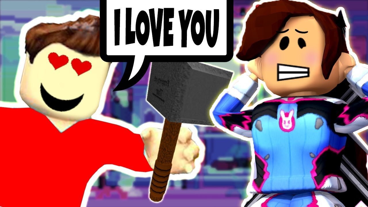 The Beast Has A Crush On Me Flee The Facility Roblox Youtube