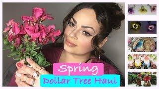 AMAZING NEW SPRING DOLLAR TREE HAUL