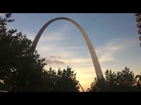 2017 Solar Eclipse from Gateway Arch