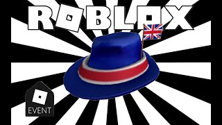 HOW TO GET THE INTERNATIONAL FEDORA - UNITED KINGDOM | Roblox