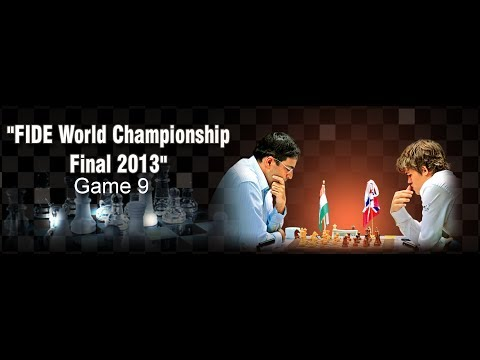 Game 9 - Viswanathan Anand vs Magnus Carlsen | FIDE World Championship 2013