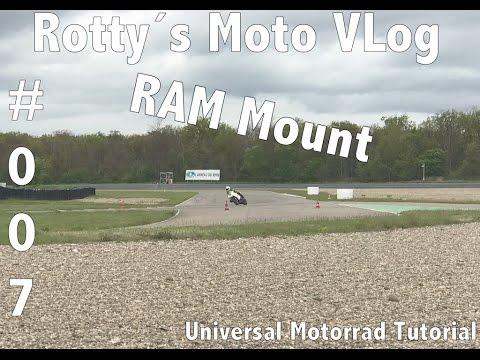 Motorrad Universal Tutorial #007 RAM MOUNT Montage Navi Lenkkopf am Supersportler SSP
