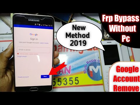 Samsung A710 Frp Bypass Without PC Google Account Remove 2019 ✓ 😍
