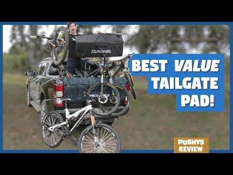 Tailgate Pad Comparison: Race Face Inferno, Dakine, Pushys