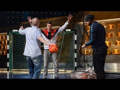Handball-Raab vs. Heinevetter und Lichtlein - TV total