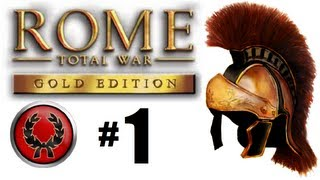 Rome Total War - Julii Campaign Part 1: I will be Emperor!