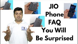 Jio phone whatsapp, jio sim insert, hotspot, all questions answered | gadgets to use