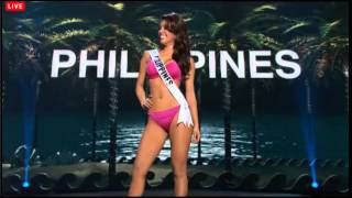 Miss Philippines Swimsuit Preliminary Miss Universe 2014