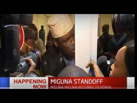 """Miguna Miguna now claims; government wants to take me to Dubai by force"""""""