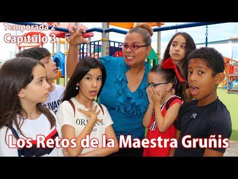 LOS RETOS DE LA MAESTRA GRUÑIS | TV Ana Emilia