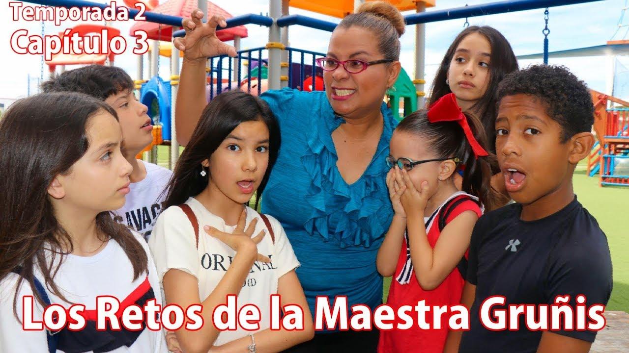 Ver LOS RETOS DE LA MAESTRA GRUÑIS | TV Ana Emilia en Español