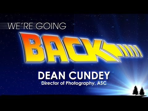 DEAN CUNDEY for We're Going Back   30th Anniversary Fan Celebration of Back to the Future