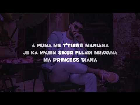 Ledri Vula ft. Lyrical Son - Princess Diana  (Lyrics)
