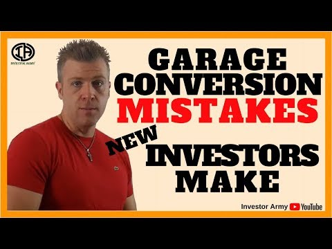 Garage Conversion Mistakes New Investors Make