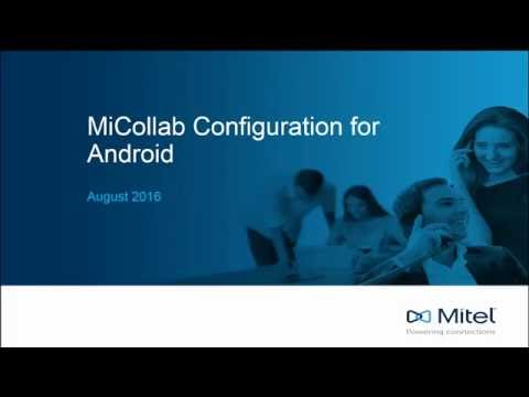 Installation instructions for running Mitel MiCollab on your