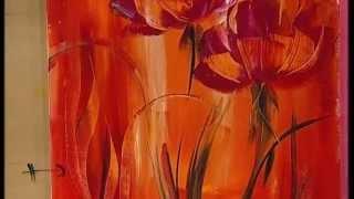 Repeat youtube video MONITOR | Gabriela Mensaque pintando con Acrílicos Profesionales Lautrec | Manos a la Obra