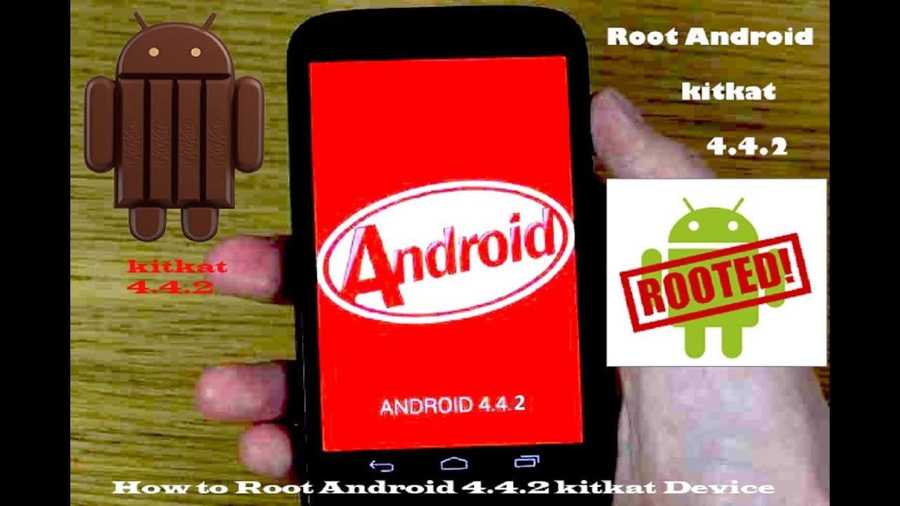 root application for kitkat