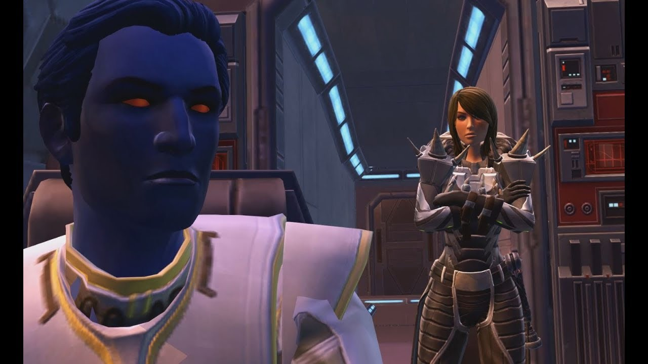 SWTOR Female Sith Inquisitor Story Part 1: Korriban - YouTube