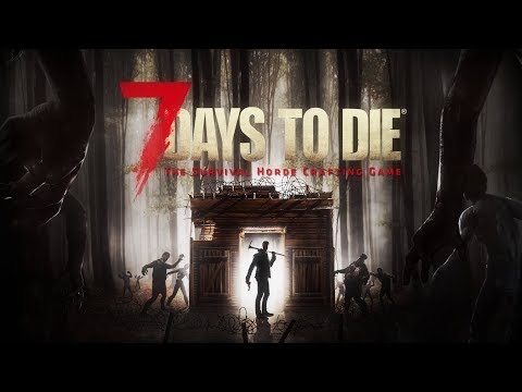 Livestream 7 Days to Die ALPHA 16 exp. | Checking out the creative blocks