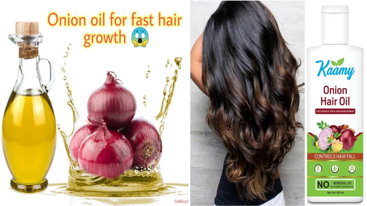 My Hair Care Routine | Kaamy Onion Hair Oil & Onion Shampoo Review ¦ fast hair growth