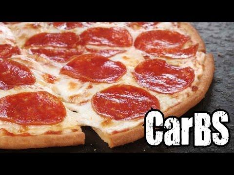 CarBS Pizza Hut Gluten-Free Pizza