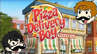 IT'S PIZZA TIME!!! | Pizza Delivery Boy (Wii) | Bottles and Pete play