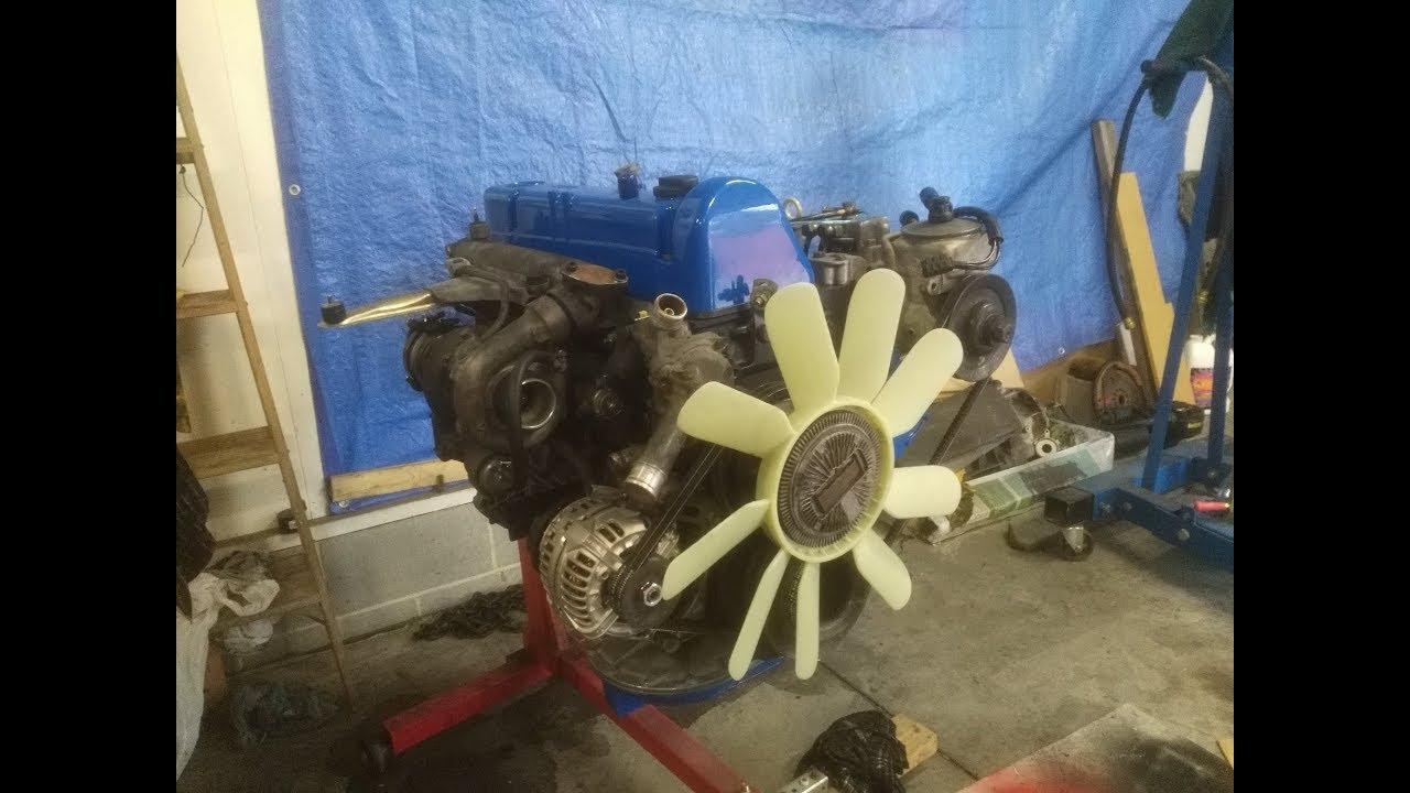 OM617 Turbo Diesel start up