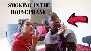 $M0KING IN THE HOUSE PRANK ON ROOMMATES  FT CARMEN