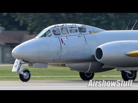 Oshkosh Warbird Arrivals (Monday Part 1) - EAA AirVenture Oshkosh 2018