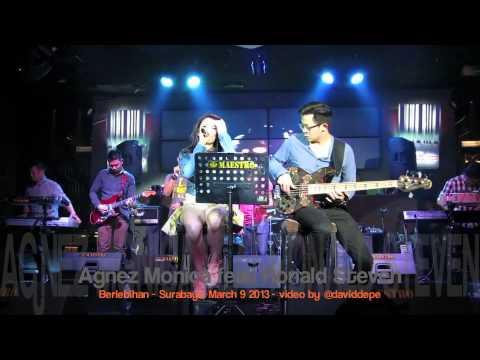 Agnez Monica feat Ronald Steven - Berlebihan @Penthouse - Surabaya