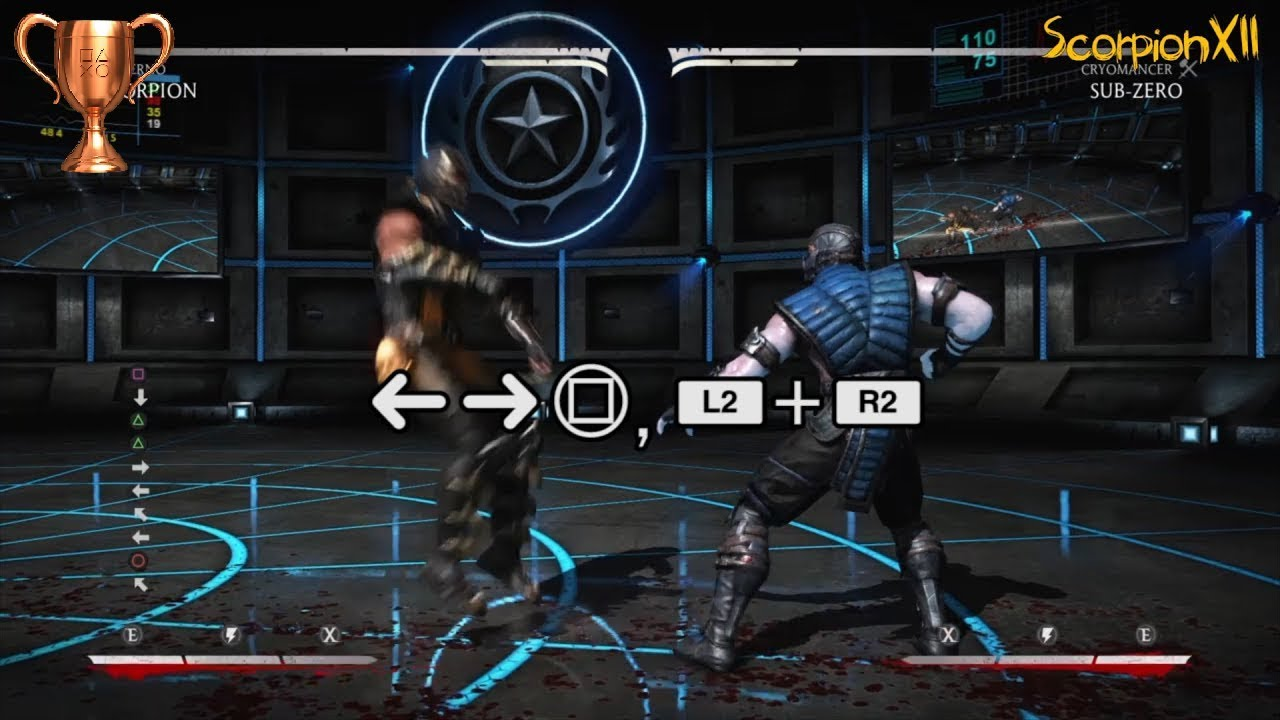 Mortal Kombat X 10 Hit Combo With All Characters Knockout