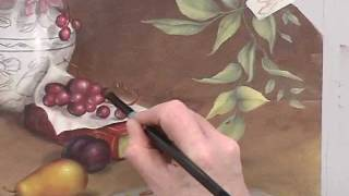 artist paint box still life painting demo excerpt