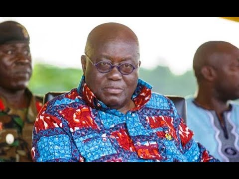 President Akufo-Addo condemns involvement of foreigners in small-scale mining