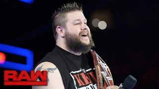 """Kevin Owens joins """"The Rollins Report"""": Raw, Dec. 12, 2016"""