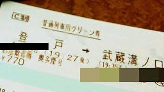【JR東日本】お座敷青梅奥多摩号を南武線快速感覚で利用する【華】